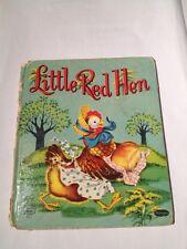 Little Red Hen 1953 Tell-a-talebooks