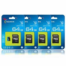 ADATA 64GB Class 10 85MB/s MicroSD SDXC UHS-I Memory Card Galaxy A7 Note 5 Lot 4