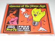*RARE* QUEENS OF THE STONE AGE '3'S & 7'S' 1-TRACK UK PROMO CD SINGLE [2007]