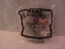 Star Wars - The Clone Wars  Happy Meal  Padme Amidala  NIP  (316DJ18)  No.5