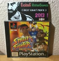 """ Street Fighter Collection "" / PAL ESP. / Completo - Playstation 1 (PSX)"