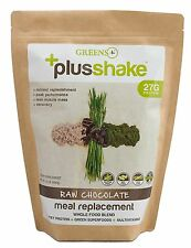Raw Chocolate Whey Meal Replacement +PlusShake -Green Plus 1.5 L.B