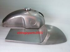 NEW BENELLI MOJAVE CAFE RACER RAW PETROL TANK WITH SEAT HOOD AND MONZA CAP