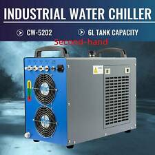Secondhand CW-5202 Industrial Water Chiller for 60-150W Laser Tubes Equipment