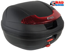 Givi E340 Monolock Motorcycle Scooter Top Box Luggage Case With Universal Plate