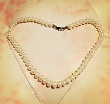 Fresh Water Pearl Necklace With Box, 43cm Long.
