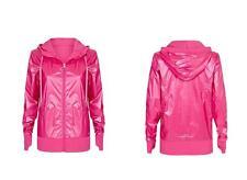LORNA JANE Luminosity Pearlescent  HOT PINK  Hooded Windbreaker Jacket Wns S NEW
