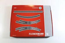 Fleischmann 9191 Spur N Gleis-Set, Complett-Set D. Neuware in OVP.