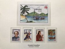 Granada Grenadines 1992 Stamps Christopher Columbus MNH