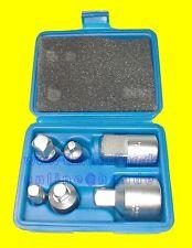 """BGS 199 Satz Adapter Nüsse Knarre Ratsche 6tlg 6,3mm (1/4"""") bis 20mm (3/4"""") NEU"""