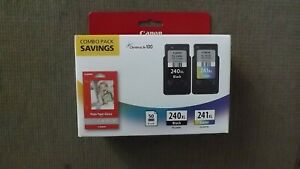 Canon ChromeLife 100 240XL Black & 241XL Color Ink Cartridge Combo Pack