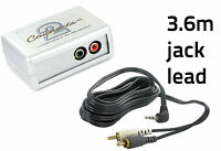 BMW AUX adapter 3 5 7 Series X5 Mini 3.5mm jack lead 3.6m CTVBMX001 car iPod MP3