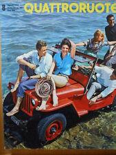 Quattroruote n°8 1962 - Test su strada PRINZ IV  [Q79A]