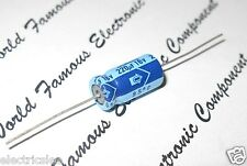 10pcs-NICHICON 220uF (220µF) 16V Axial Electrolytic Capacitor - JAPAN