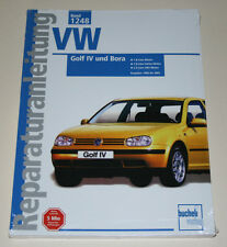 Reparaturanleitung VW Golf IV + Bora 1,8 / 1,8 turbo / 2,3 VR5, Bauj. 1998-2001