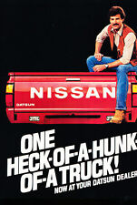 1983 Datsun Nissan Truck 4-sided - Classic Vintage Advertisement Ad M3113-A89-B