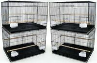 """Lot of 4 Large 30"""" Breeding Bird Flight Cage Finches Aviaries Canaries Budgies"""