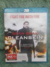 CLEANSKIN SEAN BEAN,,CHARLOTTE RAMPLING,,,JAMES FOX MA R4 BLU RAY