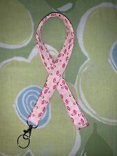 Flamingos Lanyard with Clasp & Split Ring
