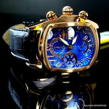 Invicta Dragon Lupah Rose Gold Plated Blue Swiss Automatic Sellita SW500 New