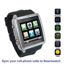 Smartwatch (Classique Étui ) Synchronisation Appels pour Iphones,Android Phones,