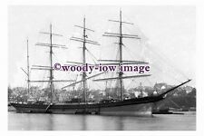 rs0105 - UK Sailing Ship - Lyderhorn , built 1892 - photograph