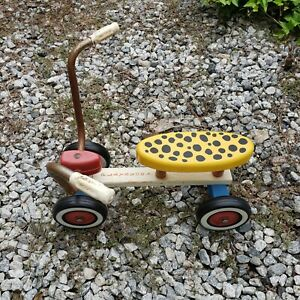 Vintage Playskool Trike Wiggle Wagon Childs Ride On