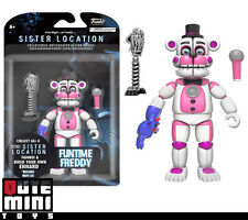 """FUNKO FIVE NIGHTS AT SISTER LOCATION FUNTIME FREDDY 5"""" ACTION FIGURE 13741"""