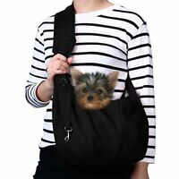 TOMKAS Small Dog Cat Carrier Sling Hands Free Pet Puppy Outdoor Travel Bag Tote