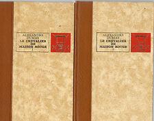 LE CHEVALIER DE MAISON ROUGE 2T, par Alexandre DUMAS, Editions de L'ERABLE