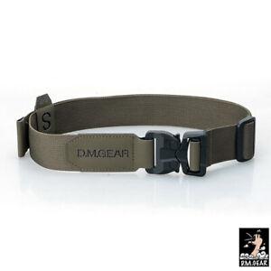 DMgear Tactical Belt Quick Release Buckle Belt Mens Belts Lightweight Military