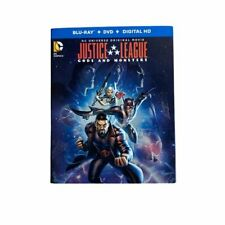 Justice League Gods and Monsters. Blue-ray.