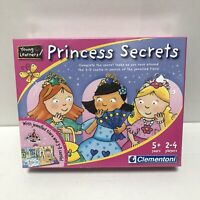 Clementoni Young Learners Princesses Secrets Game 5+ 2-4 Players - BNIB (Sealed)