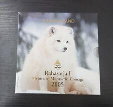 Finlande Coffret Officiel BU 8 pièces + Médaille 2005