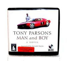 BOOK/AUDIOBOOK CD Tony Parsons Fiction Novel MAN AND BOY