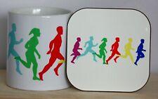Running Mug and Coaster Set