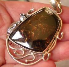 Astrophyllite Pendant - Sterling Silver   j1037