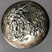 The Universal Flood The Genius of Michelangelo 1.26oz Sterling Silver Medal
