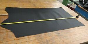 BLACK Butt Split  Leather Panel 1.5mm Thickness LOT 2235