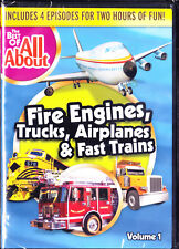 Best of All About - Fire Engines,Trucks,Trains and Airplanes NEW! DVD