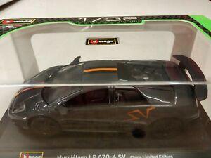Burago Lamborghini Murcielago LP 670-4 SV Limited Edition 1/32 New in Box