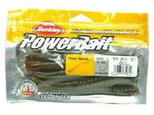 "Wrtmln//Prp//Red//Flk Berkley PowerBait 7/"" Power Worm #MPWA7-WPR New 10 Count"