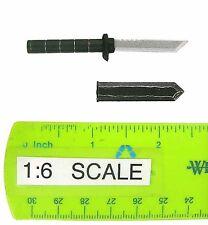 Sideshow Marvel Deadpool Knife w/ Sheath 1:6th Scale Accessory