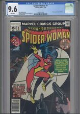 Spider-Woman #1 CGC 9.6 1978 Marvel Comics New Origin & Marv Wolfman Story