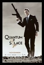 (FRAMED) JAMES BOND QUANTUM SOLACE POSTER PRINT PICTURE - READY TO HANG ART NEW