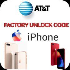 Premium FACTORY UNLOCK SERVICE AT&T CODE ATT for IPhone 3 4 5 5S 6 6s 7 8 X Xr