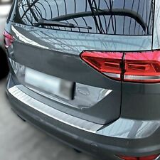 Protector paragolpes para VW Touran II 5T 2015+ en acero inoxidable mate
