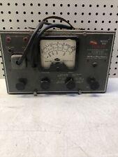 Mcmurdo Silver 900 Vomax Vacuum Tube Voltmeter Vintage Untested Industrial