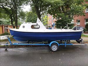 motorboote gebrauchte, Kajütboot,Angelboot,Motorboot,Freizeitboot,mit Trailer