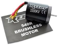 Reedy 540R 3300kV BRUSHLESS MOTOR esc sc700 AE- Team Associated 1/10 SC10 RS 2WD